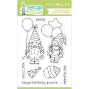 Tulla's Birthday Party Stamp Set - Photoplay