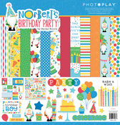 12 x 12 Collection Pack - Norbert's Birthday Party - Photoplay