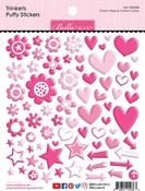 Punch, Peep & Cotton Candy Trinkets Puffy Stickers - Bella Blvd