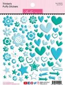 Ice & Gulf Trinkets Puffy Stickers - Bella Besties - Bella Blvd