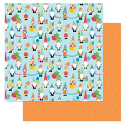 Happy Birthday Gnomie Paper - Norbert's Birthday Party - Photoplay - PRE ORDER