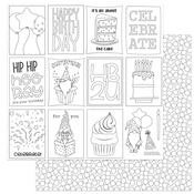 Color Me Paper - Norbert's Birthday Party - Photoplay - PRE ORDER