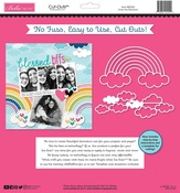 Over the Rainbow Cut Outs Paper - Bella Besties - Bella Blvd - PRE ORDER