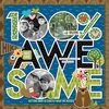 100% Awesome Cut Outs Paper - Bella Besties - Bella Blvd
