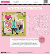 Love You Lots Cut Outs Paper - Bella Besties - Bella Blvd - PRE ORDER