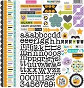 Monsters & Friends Doohickey Sticker Sheet - Bella Blvd