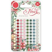 Noel Assorted Color Enamel Dots - Craft Consortium