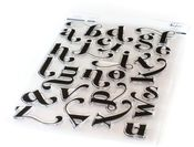 Lea's Ornate Lowercase Stamp Set - Pinkfresh Studio