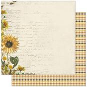 #1 Sunflower Paper - Splendor - Authentique