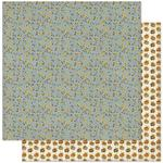 #3 Mini Blue Sunflowers Paper - Splendor - Authentique
