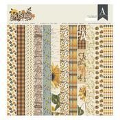 Authentique 12 x 12 Paper Pad - Splendor - Authentique
