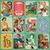 """#5 Images & Sentiments 3""""X4"""" Cut-Aparts - Delicious - Authentique"""