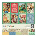Delicious 12x12 Collection Kit - Authentique