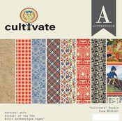 Cultivate 6x6 Paper Pad - Authentique