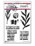 Be Willing Cling Stamps 6 x 9 - Ranger - Dina Wakley Media