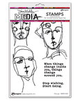 Change Cling Stamps 6 x 9 - Ranger - Dina Wakley Media
