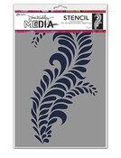 "Giant Flourish Stencils 9""X6"" - Ranger - Dina Wakley Media"