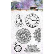 NR. 17 - Jenine's Mindful Art Time To Relax Clear Stamps - Studio Light - PRE ORDER