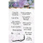 NR. 18 - Jenine's Mindful Art Time To Relax Clear Stamps - Studio Light - PRE ORDER