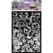 NR 08- Studio Light Jenine's Mindful Art A6 Stencil - Studio Light