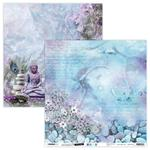 """NR. 10 - Jenine's Mindful Art Time To Relax Dbl-Sided Cardstock 12"""" - Studio Light"""