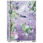 NR. 27 - Jenine's Mindful Art Time To Relax Rice Paper Sheet A4 - Studio Light