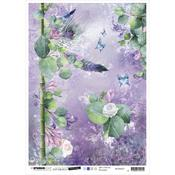 NR. 27 - Jenine's Mindful Art Time To Relax Rice Paper Sheet A4 - Studio Light - PRE ORDER