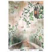 NR. 29 - Jenine's Mindful Art Time To Relax Rice Paper Sheet A4 - Studio Light - PRE ORDER