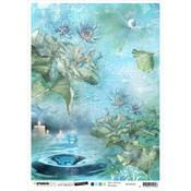 NR. 30 - Jenine's Mindful Art Time To Relax Rice Paper Sheet A4 - Studio Light - PRE ORDER