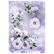 NR. 31 - Jenine's Mindful Art Time To Relax Rice Paper Sheet A4 - Studio Light - PRE ORDER