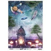 NR. 32 - Jenine's Mindful Art Time To Relax Rice Paper Sheet A4 - Studio Light - PRE ORDER