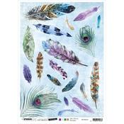 NR. 34 - Jenine's Mindful Art Time To Relax Rice Paper Sheet A4 - Studio Light - PRE ORDER