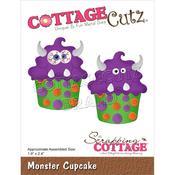"Monster Cupcake 1.9""X2.4"" - Cottage Cutz"