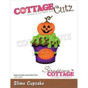 "Slime Cupcake 1.6""X2.6"" Dies - Cottage Cutz"