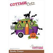 "Spooky Camper 4.4""X3.5"" Dies - Cottage Cutz"