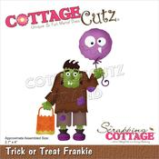 "Trick Or Treat Frankie 2.7""X4"" Dies - Cottage Cutz"