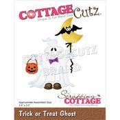Trick Or Treat Ghost 2.6 x 3.2 Dies - Cottage Cutz