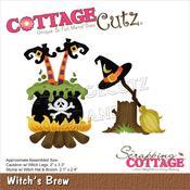 """Witch's Brew 2"""" To 3.3"""" Dies - Cottage Cutz"""