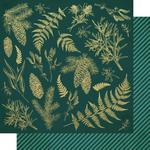 Emerald Leaves Paper - Emerald Eve - KaiserCraft