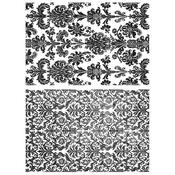 Tapestry Cling Stamp 7 x 8.5 - Tim Holtz