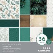 Emerald Eve 6 x 6 Paper Pad - KaiserCraft