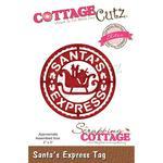 """Santa's Express Tag 2""""X2"""" Elites Die Dies - Cottage Cutz"""