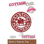 """Santa's Express Tag 2""""X2"""" Elites Die Dies - Cottage Cutz - PRE ORDER"""