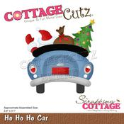 "Ho Ho Ho Car 2.9""X3.1"" Dies - Cottage Cutz"