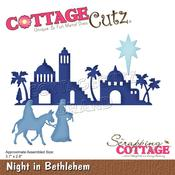 "Night In Bethlehem 3.7""X2.8"" Dies - Cottage Cutz"