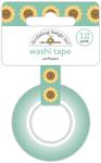 Sunflowers Washi Tape - Pumpkin Spice - Doodlebug