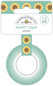 Sunflowers Washi Tape - Pumpkin Spice - Doodlebug