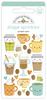 Pumpkin Spice Shape Sprinkles - Doodlebug