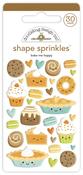 Bake Me Happy Shape Sprinkles - Doodlebug