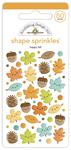 Happy Fall Shape Sprinkles - Doodlebug